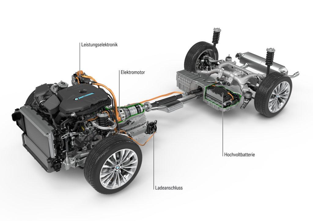 Der Neue Bmw 5er Auch Als Plug In Hybrid Electric Drive
