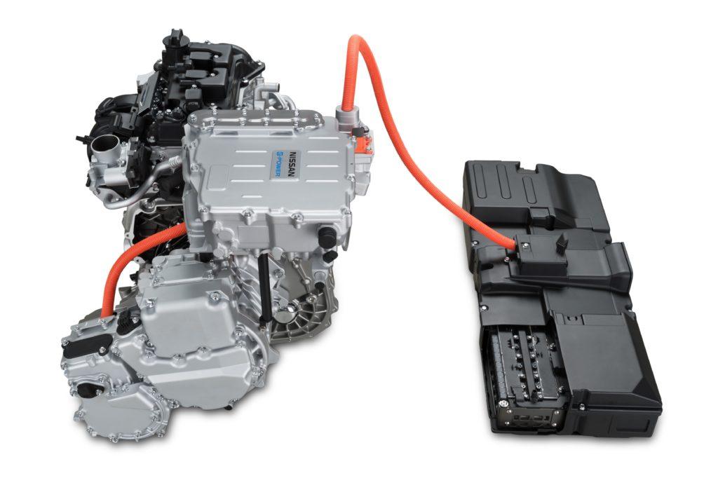 Nissan e-Power: Ein kompakter Verbrenner erzeugt Strom, wenn die Batterie geleert ist