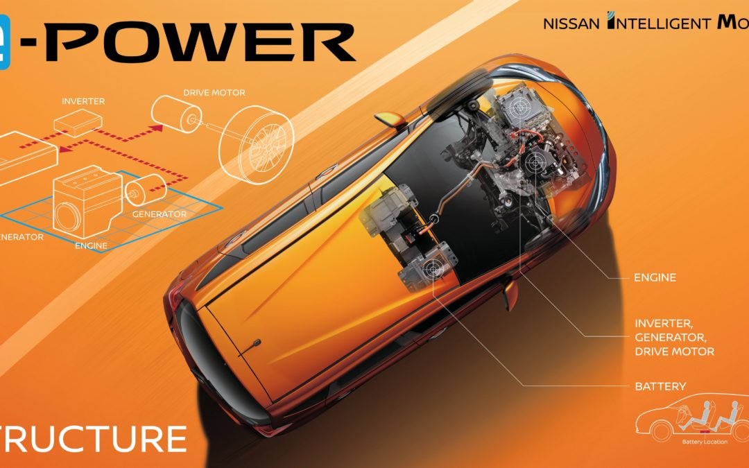 Nissan Note mit e-Power – Elektroauto mit Range-Extender