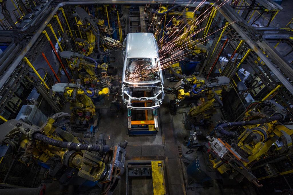 Die Fertigung des Opel Ampera-e erfolgt in Detroit, zusammen mit dem Konzernbruder Chevrolet Bolt