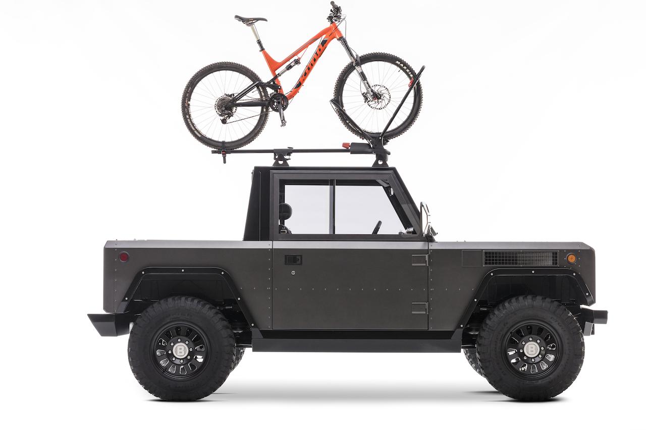 ... oder als zweisitziger Pickup mit viiiiiel Platz für Last