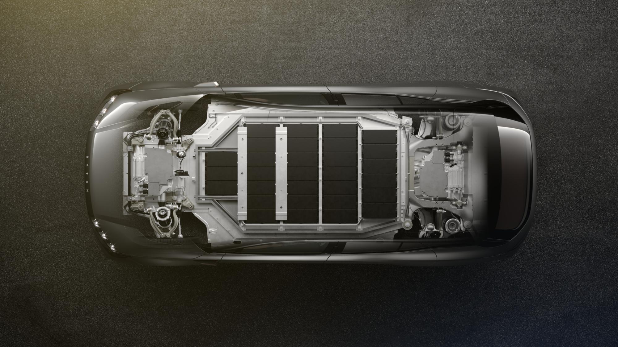 Mit zwei Batteriegrößen, 71 bzw. 95 kWh, und Heck- bzw Allradantrieb mit einem bzw. zwei Motoren gehört der Byton zu den besser bestückten Modellen im Segment