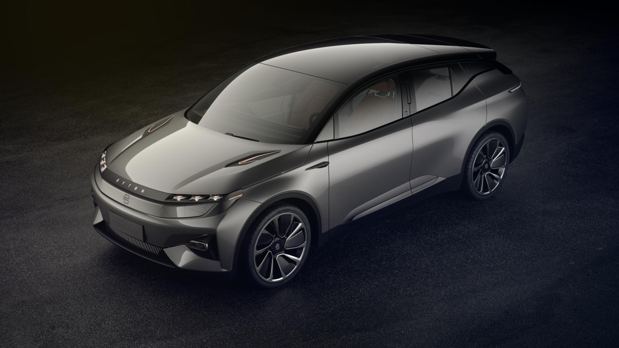 Byton zeigte sein Concept Car mit elektrischem Antrieb zur CES zum ersten Mal der Öffentlichkeit