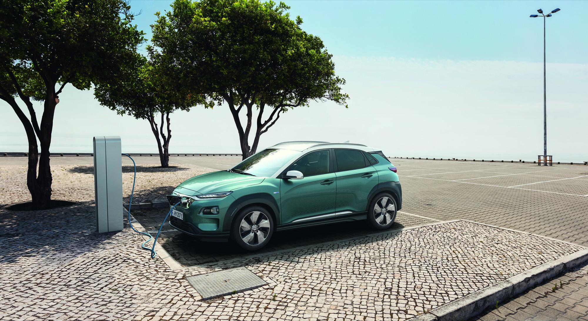 Der Hyundai Kona Elektro wird in zwei Varianten mit unterschiedlichen Batteriegrößen und Motorleistungen erhältlich sein