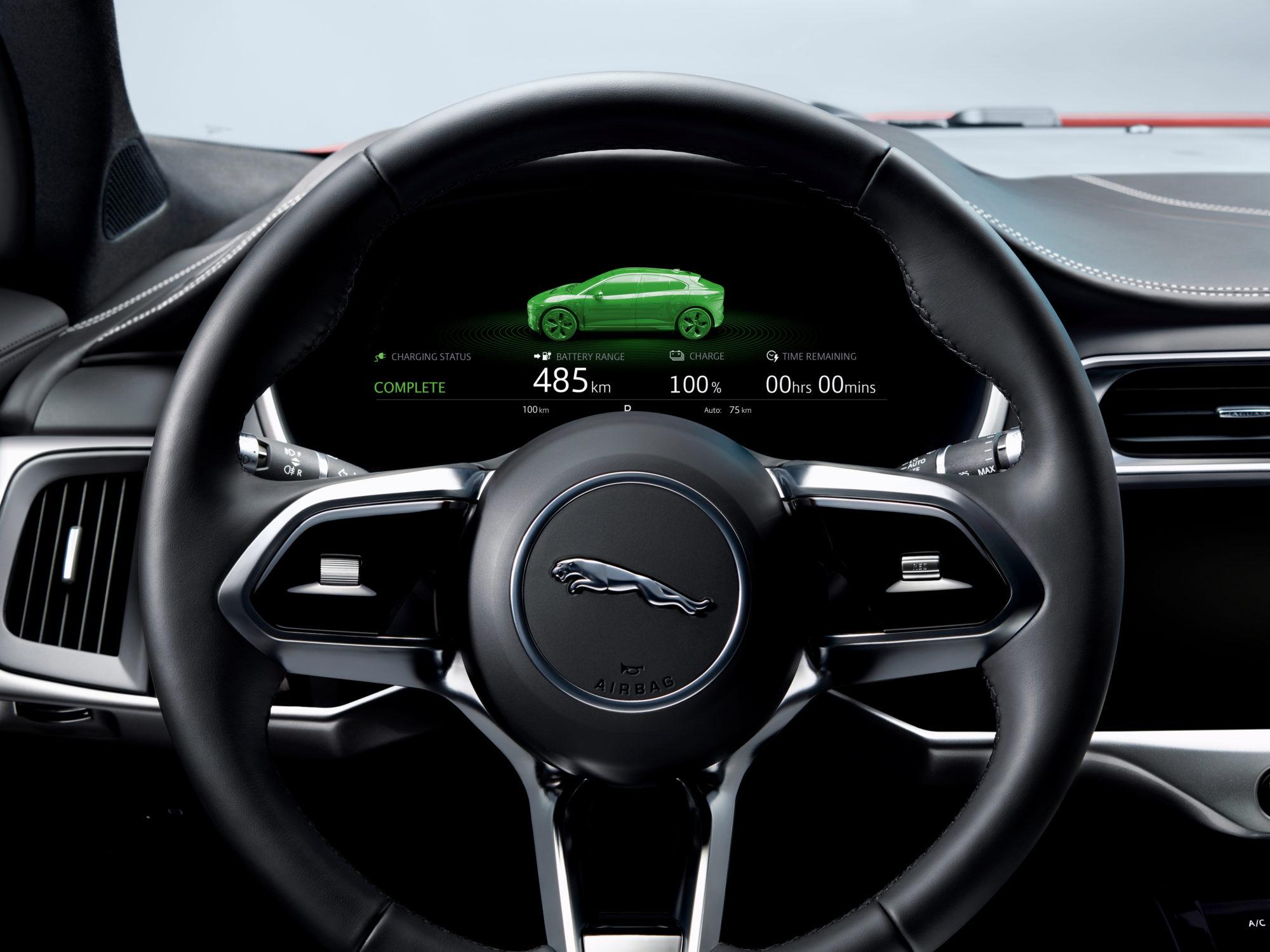 Voll geladen reicht die Batteriekapazität für bis zu 480 km