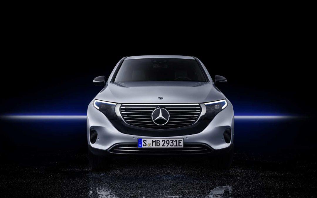 E-Mobilität wird Benz: Mercedes EQC ab Mitte 2019