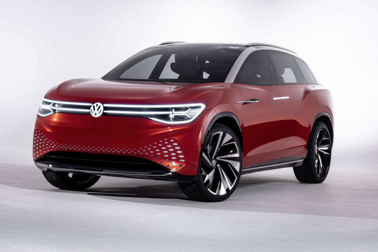 VW ID- Roomzz - Großformatiges Elektroauto für den chinesischen Markt