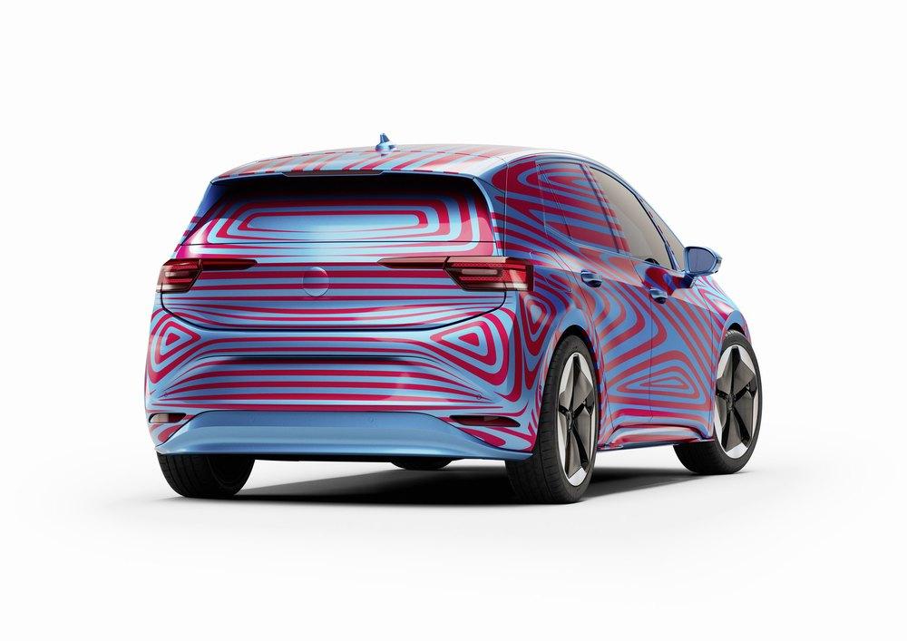 VW ID.3 Prototyp hinten rechts