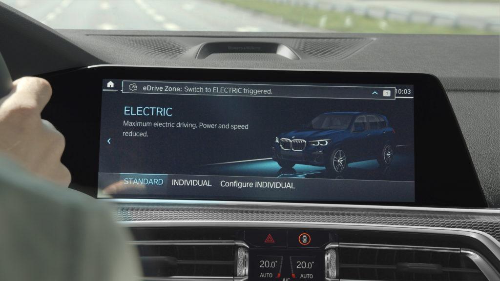 BMWs Plug-In-Hybride sollen ab 2020 in sogenannten eDrive Zonen automatisch auf Elektroantrieb umschalten können