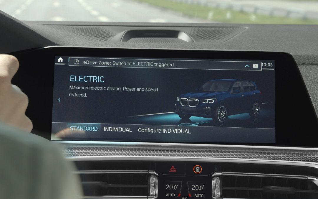 eDrive Zones – BMW schaltet automatisch in den Elektromodus