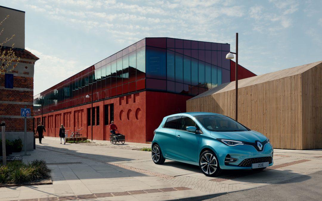 Renault Zoe jetzt auch mit 52 kWh und mehr Leistung