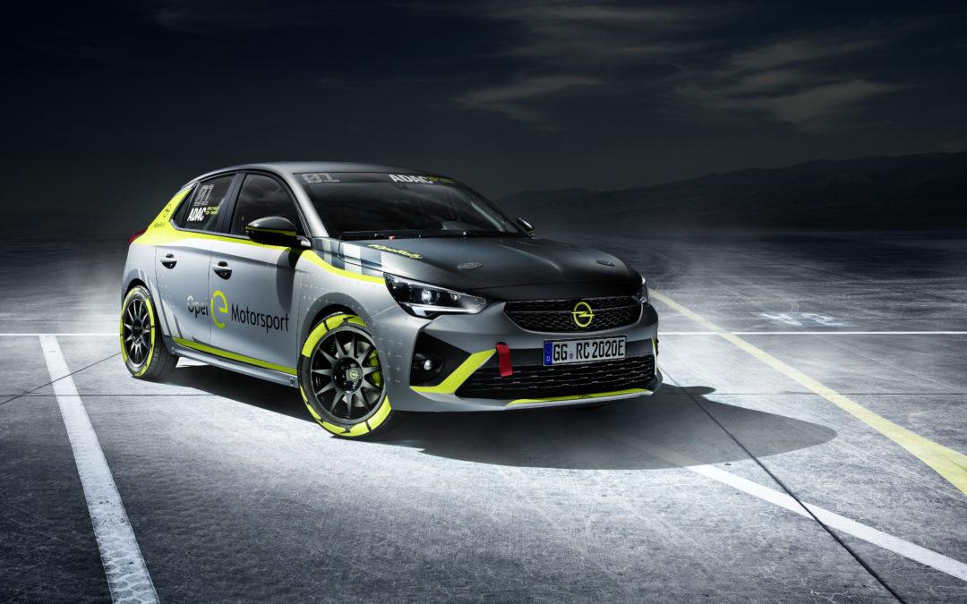 Rally wird elektrisch – Opel und der ADAC schicken den Corsa-e auf die Piste