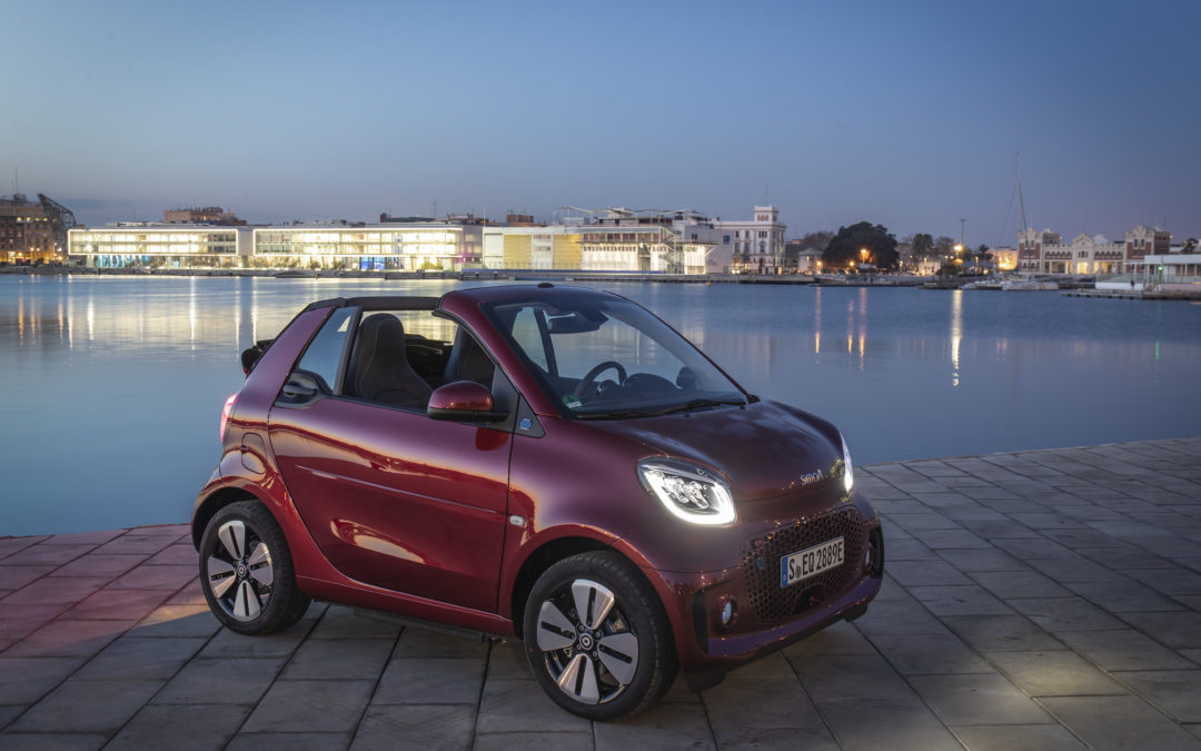 Metropolisten – smart EQ fortwo und forfour Jahrgang 2020