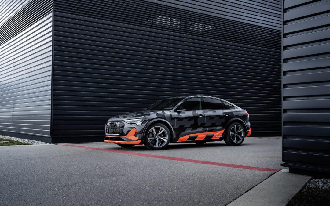 Audi e-Tron S und e-Tron S Sportback – Kraft aus drei E-Motoren