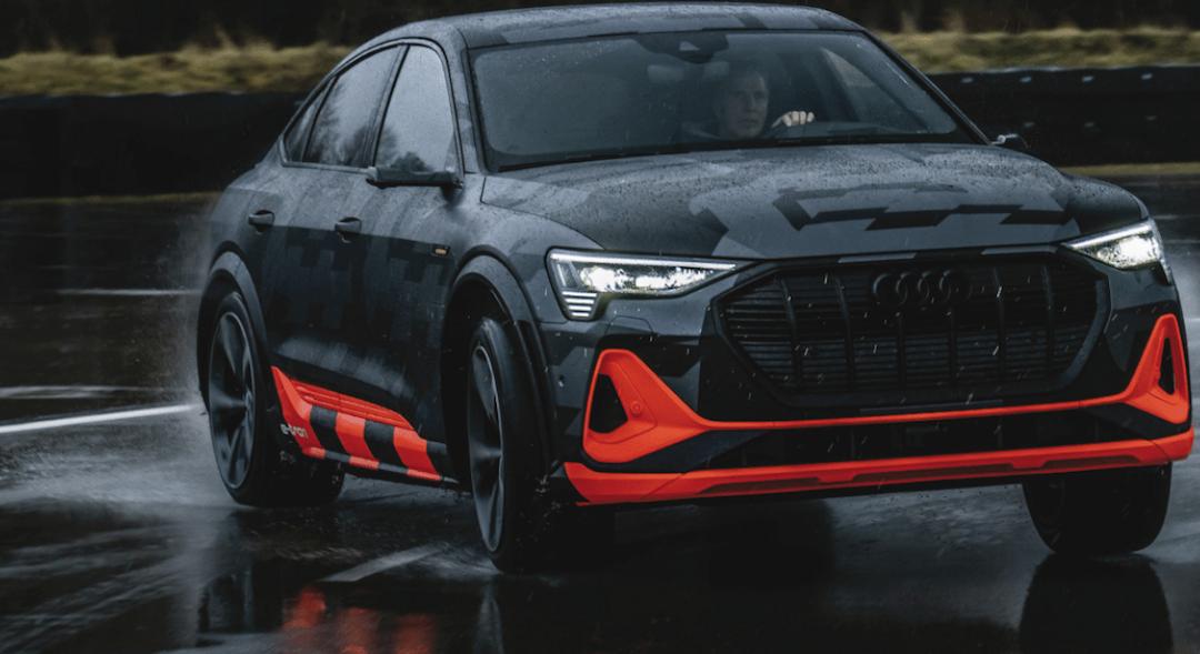 Audi e-tron – Kraft aus drei E-Motoren