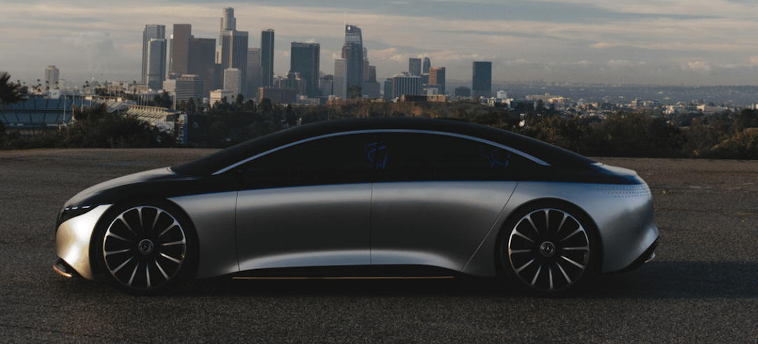 Mercedes Vision EQS – Elektrische S-Klasse