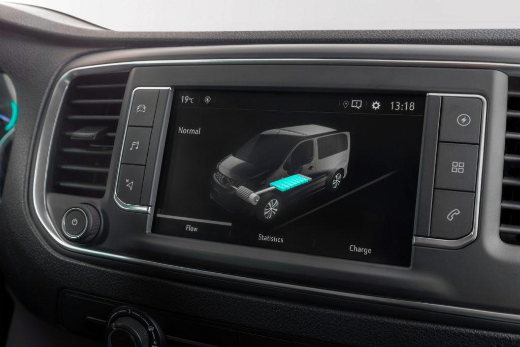 Mit der optionalen 75 kWh-Batterie erzielt der Opel Vivaro-e Reichweite bis zu 330 km