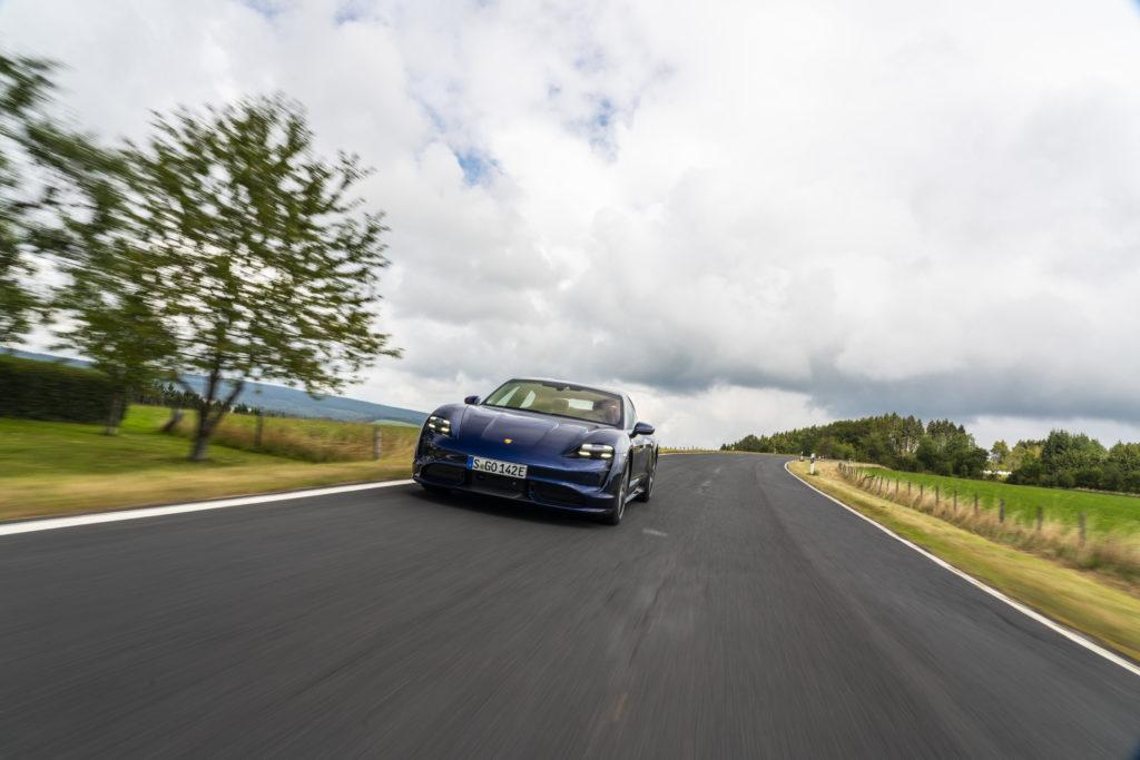 Typisch Porsche und typisch gut.