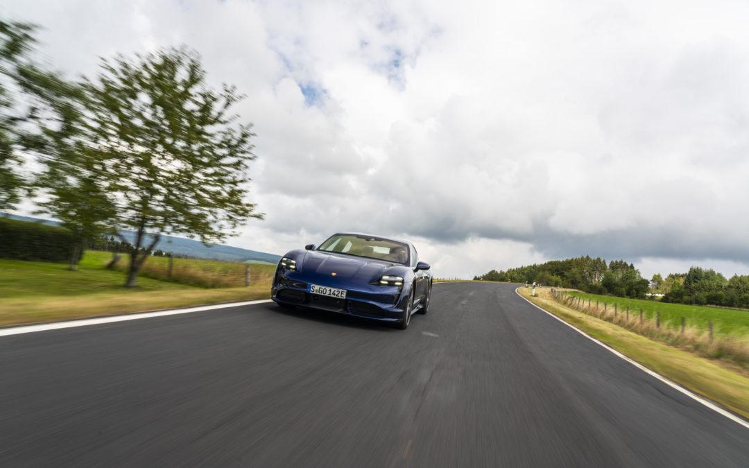 Porsche Taycan Turbo – Permanenterregt