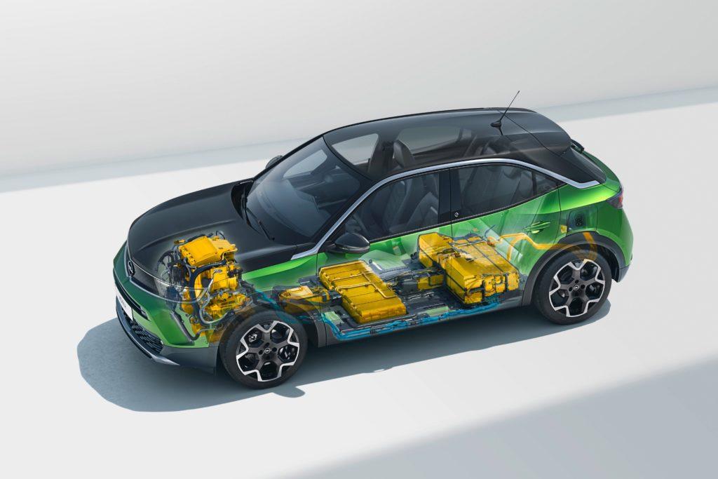 Opel Mokka-e Batterie plus Antriebssystem