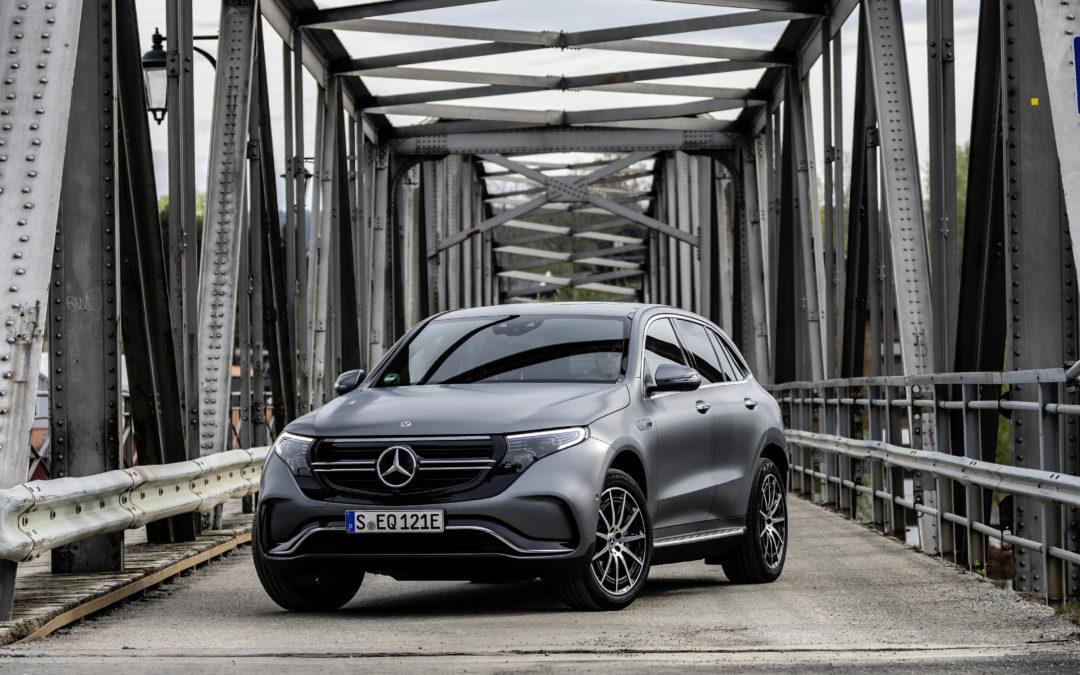 Mercedes EQC – Premium-Elektromobilität