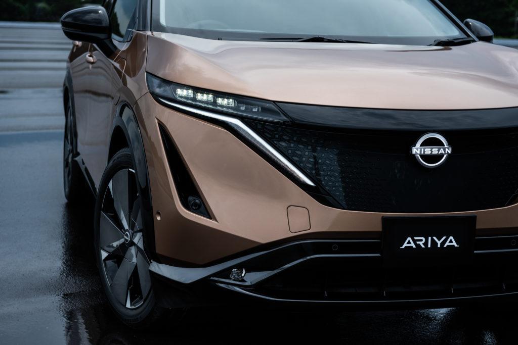 Der Nissan Ariya verkörpert den neuen Markenlook der Marke. Sehenswert, wie wir finden