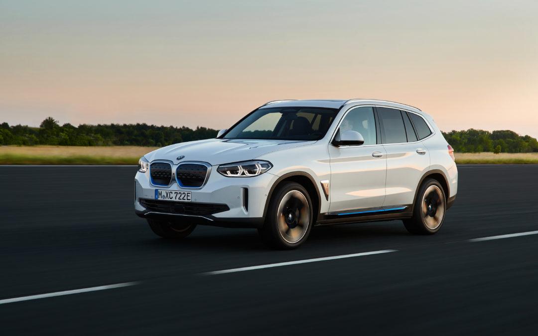 BMW iX3 – Der X3 wird elektrisch