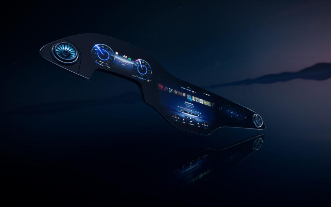 MBUX von Mercedes Benz geht mit dem Hyperscreen in die nächste Runde