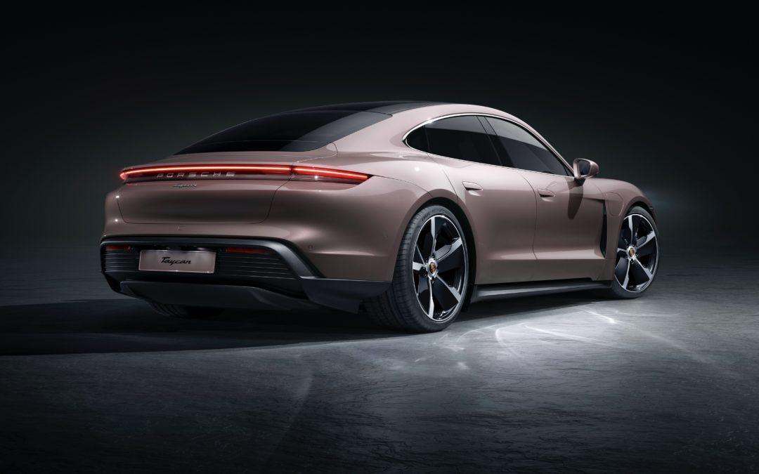 2021 Porsche Taycan mit Heckantrieb