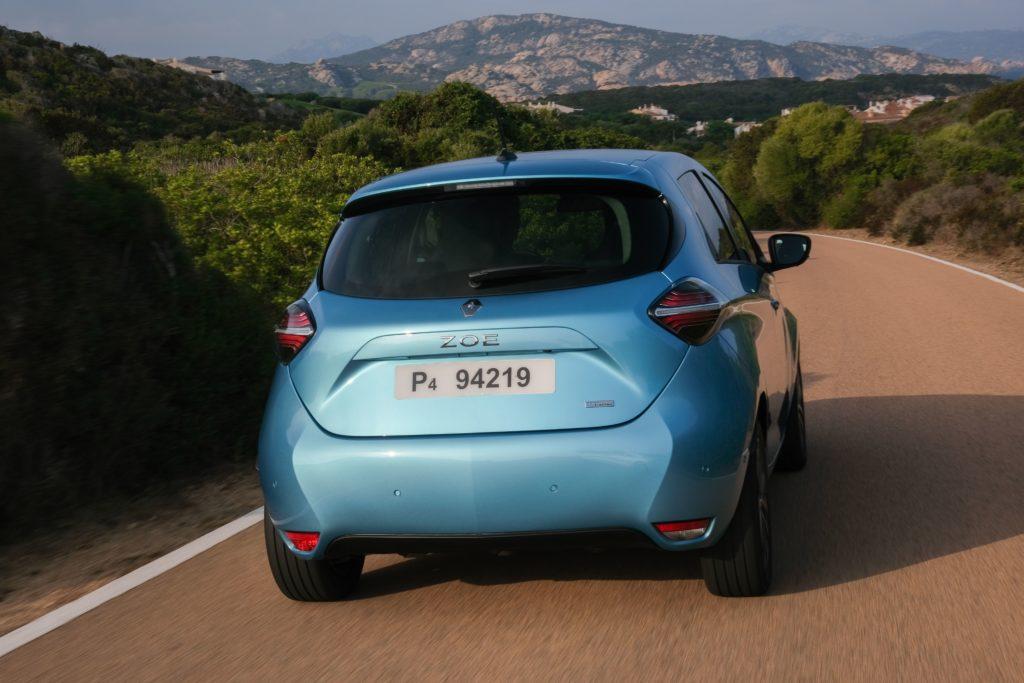 Heck des Renault Zoe
