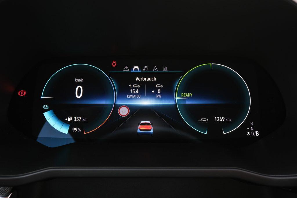 Renault Zoe Tachometer