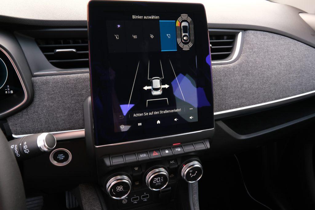 Infotainment vom Renault Zoe