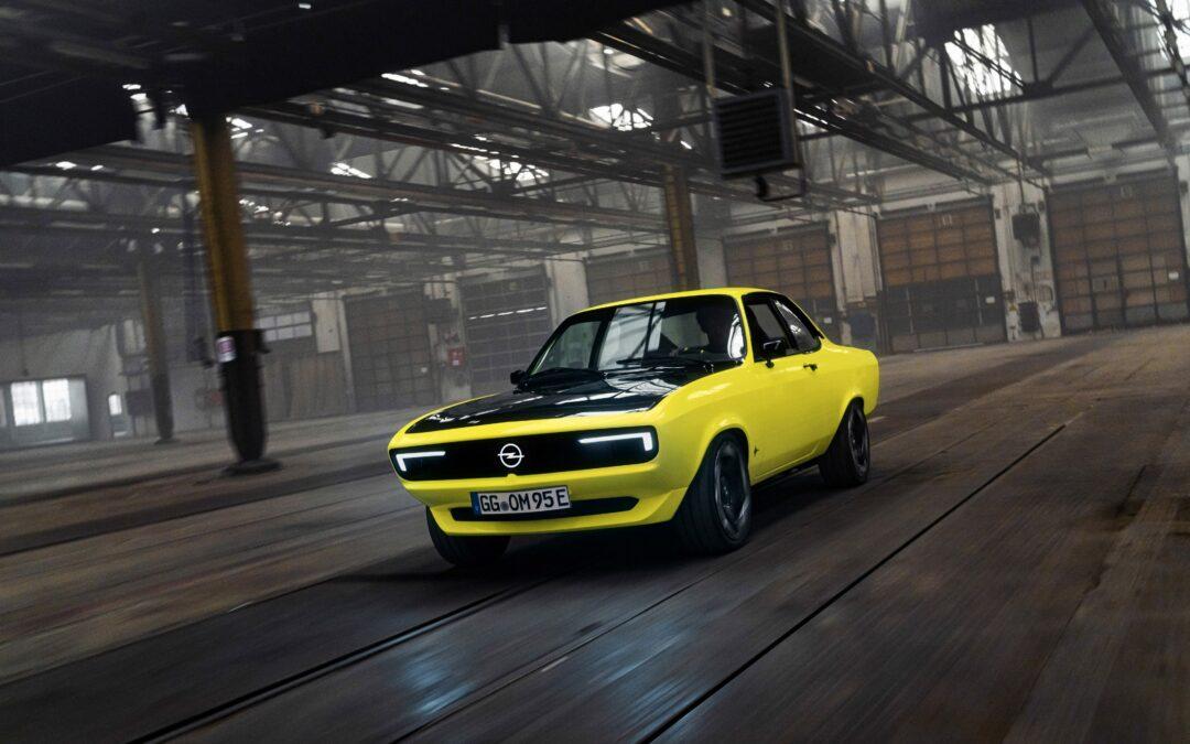 Opel Manta GSE ElektroMOD – Herzschrittmacher